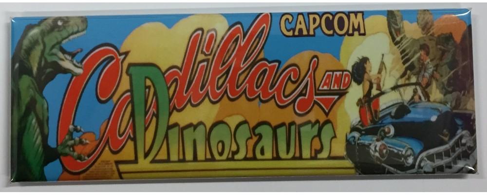Cadillacs and Dinosaurs - Arcade/Pinball - Magnet - Capcom