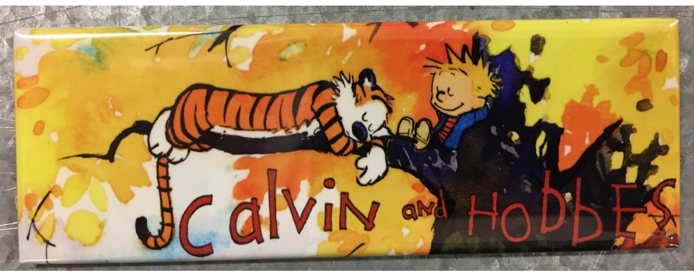 Calvin And Hobbes - Pop Culture - Magnet