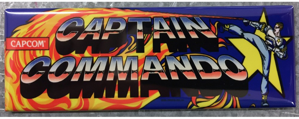 Captain Commando - Marquee - Magnet - Capcom