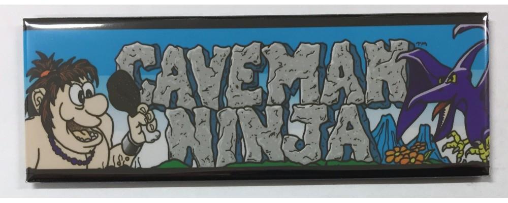Caveman Ninja - Marquee - Magnet - Data East