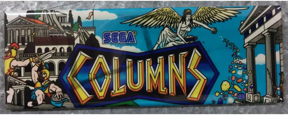 Columns - Arcade Game Marquee - Magnet - Sega