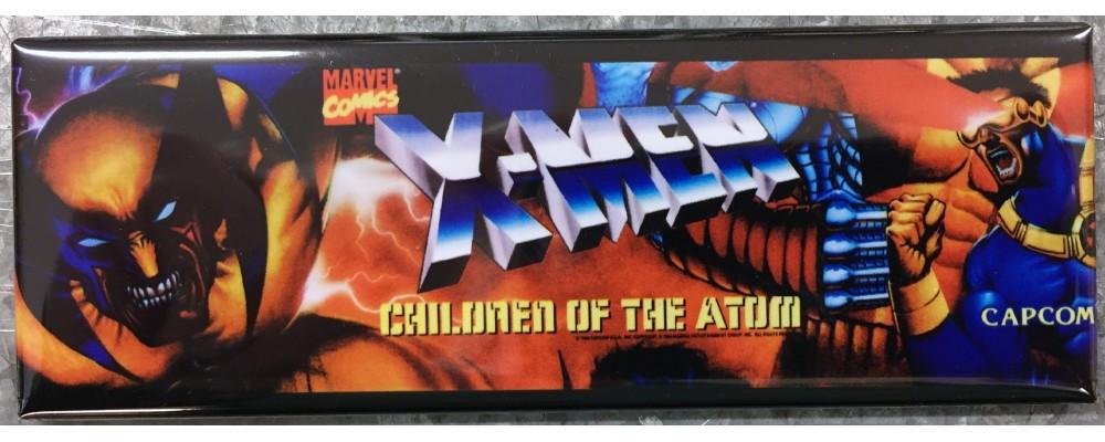 X-Men:Children Of The Atom - Marquee - Magnet - Capcom