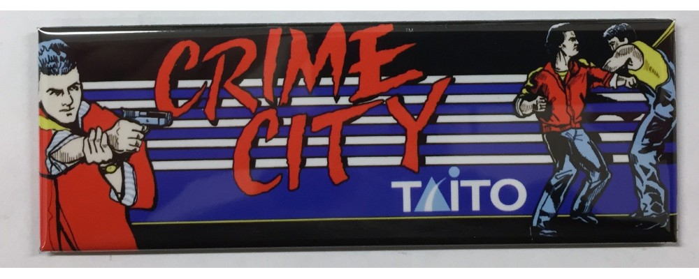 Crime City - Marquee - Magnet - Taito
