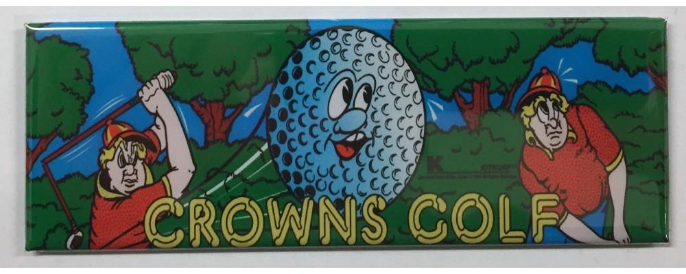 Crowns Golf - Marquee - Magnet - Sega