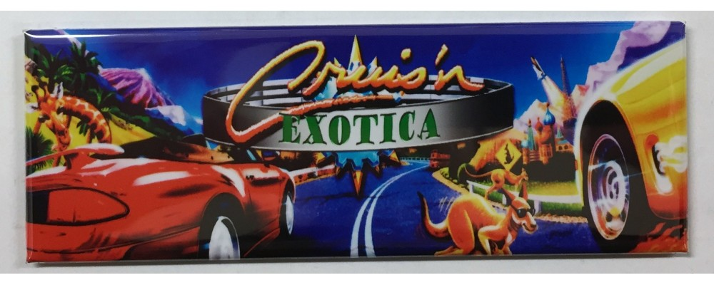 Cruisin Exotica - Marquee - Magnet - Midway