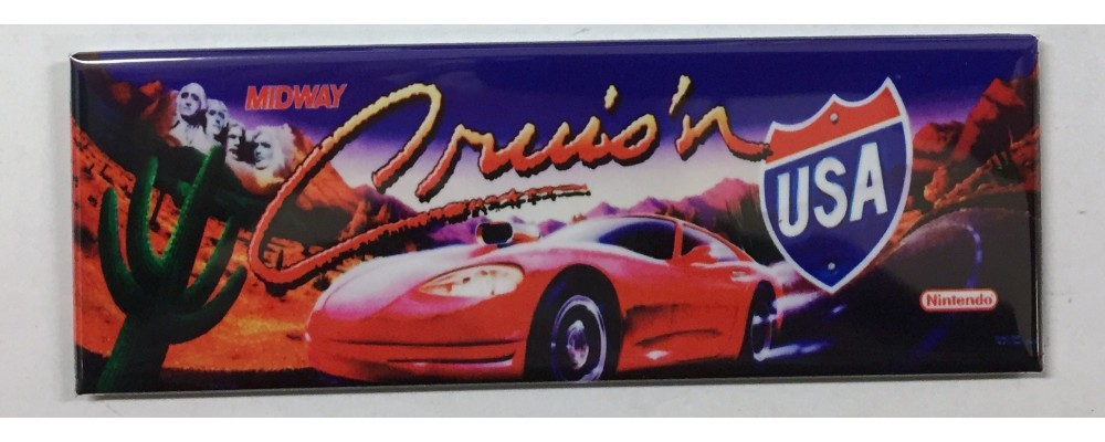 Cruisin USA - Marquee - Magnet - Midway