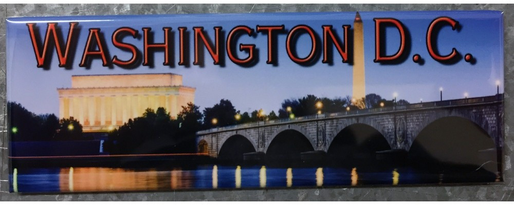 Washington DC Skyline - Destinations - Magnet