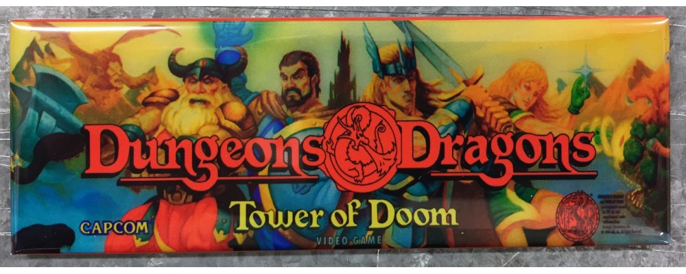 Dungeons and Dragons - Marquee - Magnet - Capcom