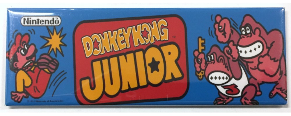Donkey Kong Jr - Arcade/Pinball - Magnet - Nintendo
