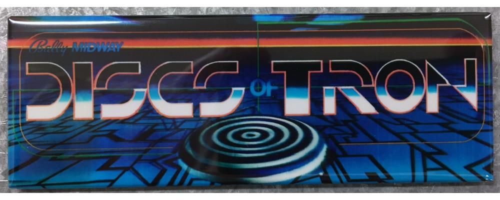 Discs of Tron - Marquee - Magnet - Midway