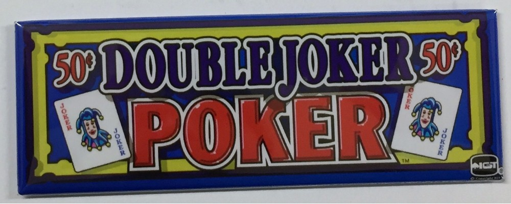 Double Joker Poker - Slot Machine - Magnet