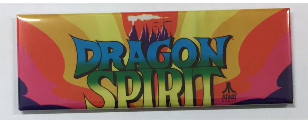 Dragon Spirit - Marquee - Magnet - Atari