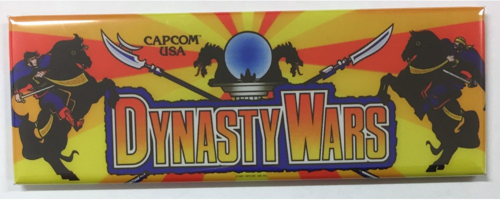 Dynasty Wars - Marquee - Magnet - Capcom