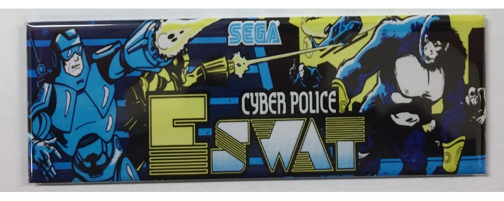 Eswat - Arcade Marquee - Magnet - Sega