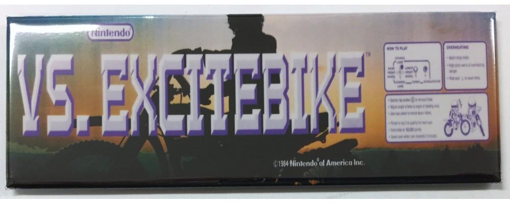 Vs. Excitebike - Arcade/Pinball - Magnet - Nintendo