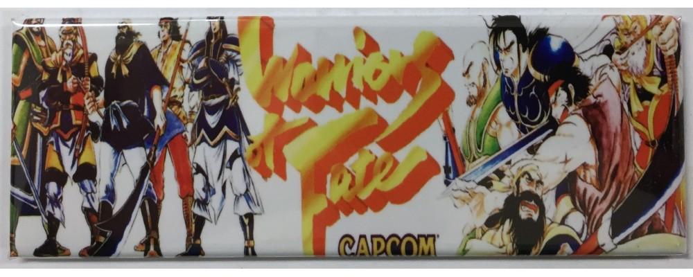 Warriors of Fate - Arcade/Pinball - Magnet - Capcom