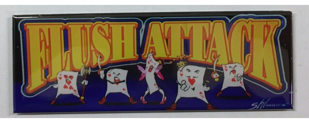 Flush Attack - Slot Machine - Magnet