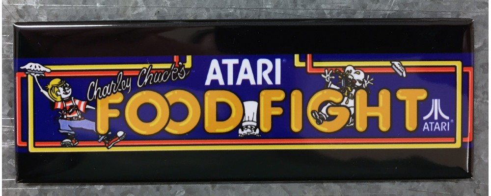 Food Fight - Marquee - Magnet - Atari