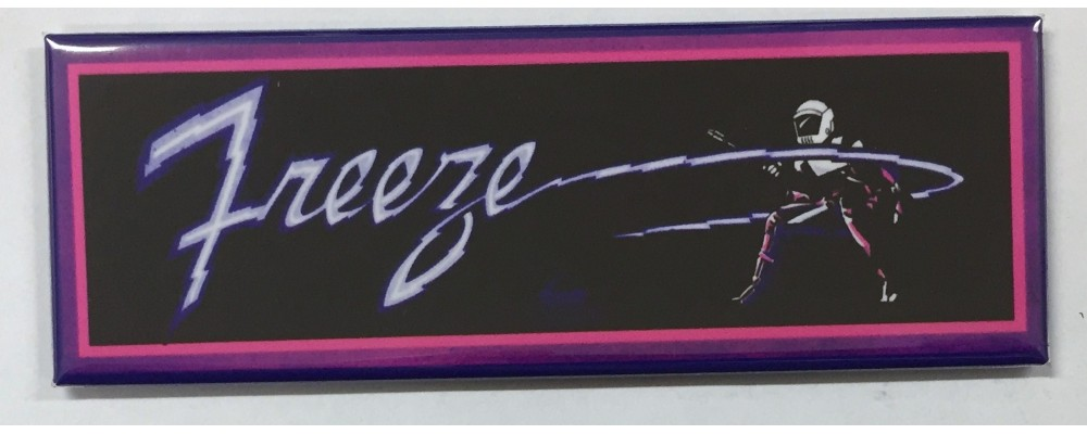 Freeze - Arcade Marquee - Magnet