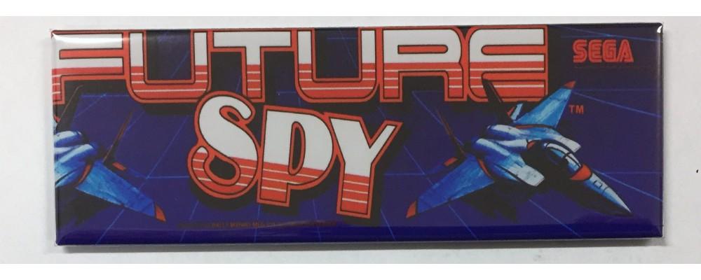 Future Spy - Arcade Marquee - Magnet - Sega