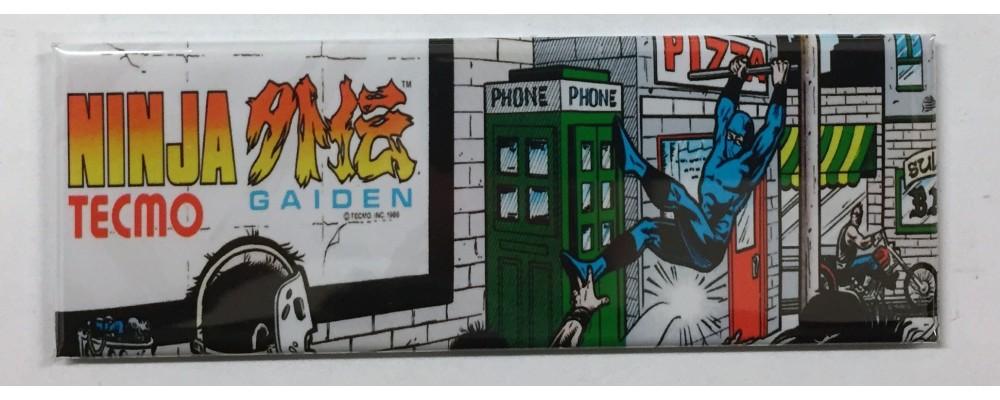 Ninja Gaiden - Marquee - Magnet - Tecmo