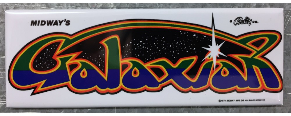 Galaxian - Marquee - Magnet - Midway