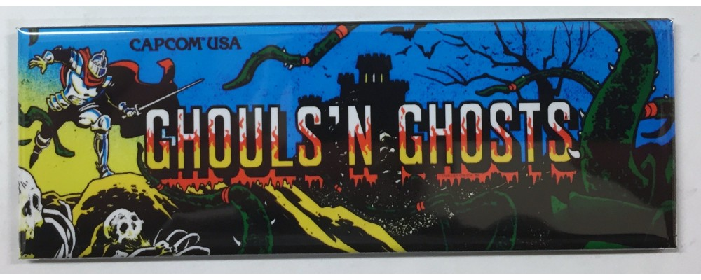 Ghouls N Ghosts - Marquee - Magnet - Capcom