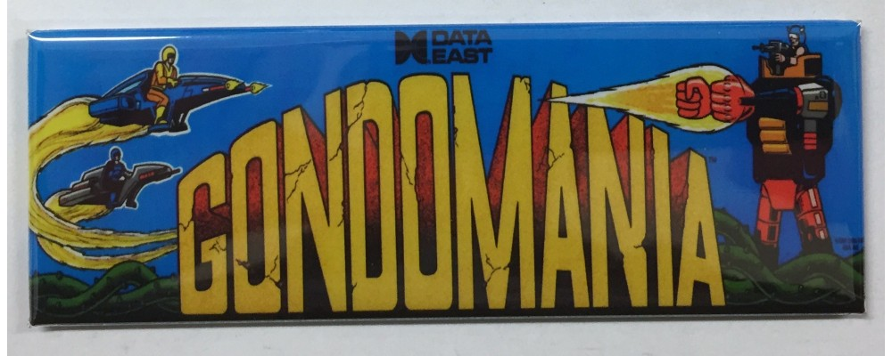 Gondomania - Marquee - Magnet - Data East