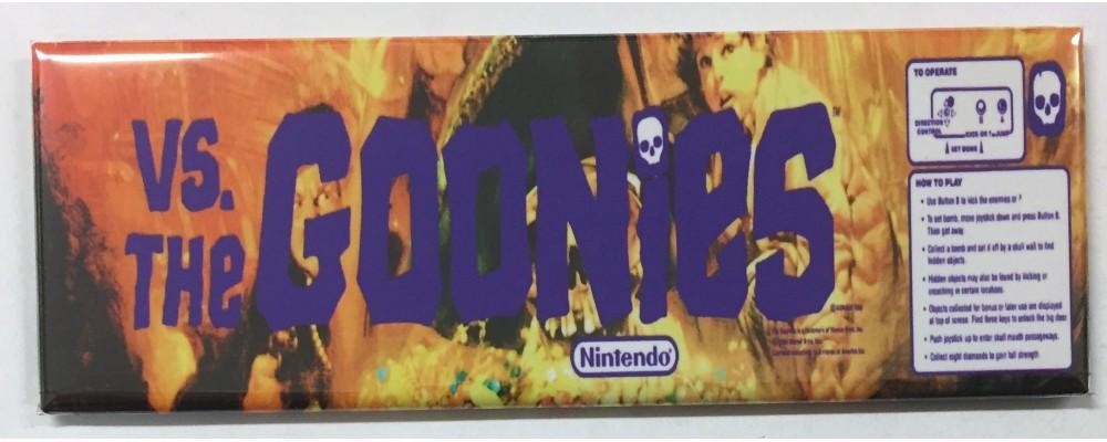 Vs. The Goonies - Marquee - Magnet - Nintendo