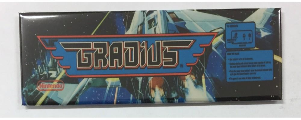 Gradius - Marquee - Magnet - Nintendo