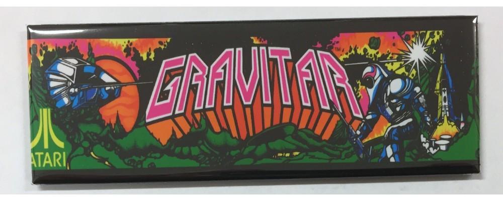 Gravitar - Marquee - Magnet - Atari