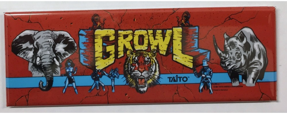 Growl - Marquee - Magnet - Taito