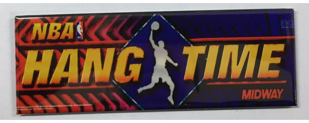 NBA Hang Time - Marquee - Magnet - Midway