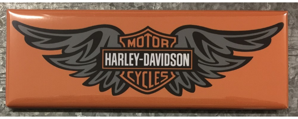 Harley-Davidson  - Advertising - Magnet