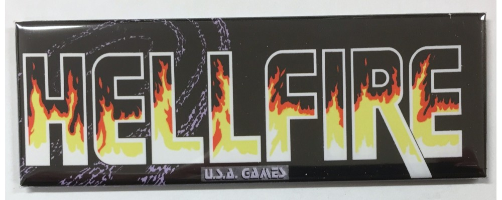 Hellfire - Marquee - Magnet - USA Games