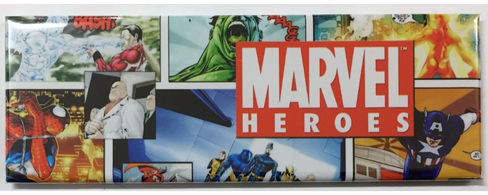 Marvel Heroes - Pop Culture - Magnet - Marvel