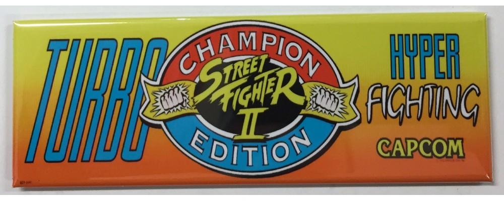 Turbo Street Fighter II Hyper Fighting - Arcade/Pinball - Magnet - Capcom