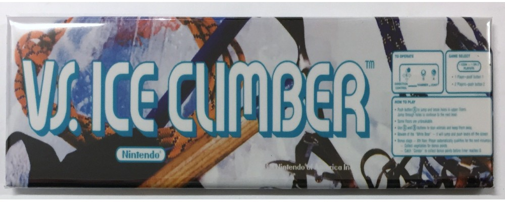 Vs. Ice Climber - Arcade/Pinball - Magnet - Nintendo