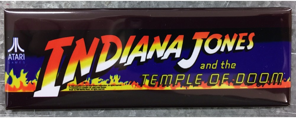 Indiana Jones - Marquee - Magnet - Atari