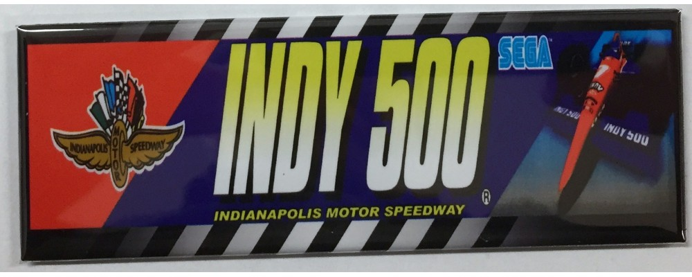 Indy 500 - Marquee - Magnet - Sega