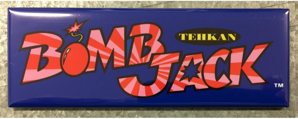 Bomb Jack - Arcade Game Marquee - Magnet - Tehkan