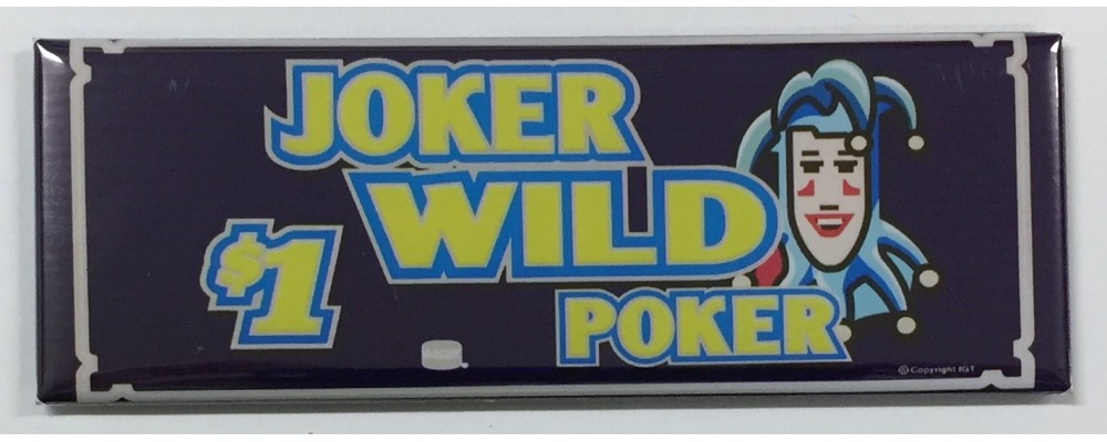 Joker Wild Poker - Slot Machine - Magnet