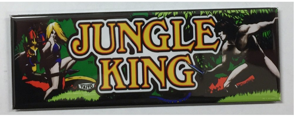 Jungle King - Marquee - Magnet - Taito