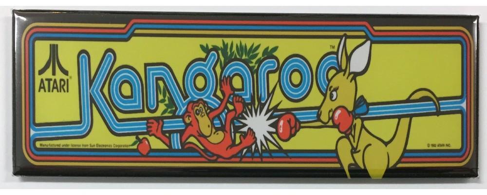 Kangaroo - Arcade Marquee - Magnet - Atari