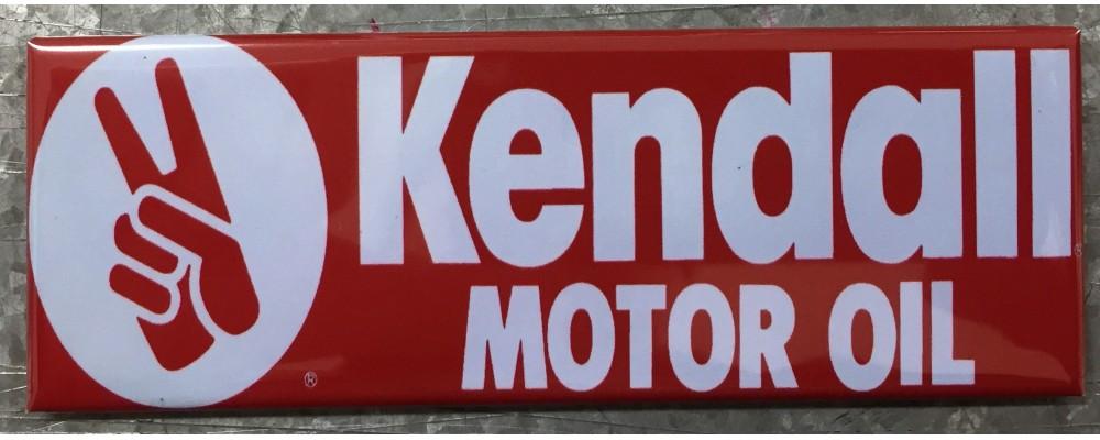 Kendall Motor Oil - Advertising - Magnet