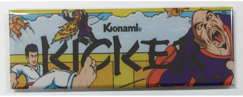 Kicker - Marquee - Magnet - Konami