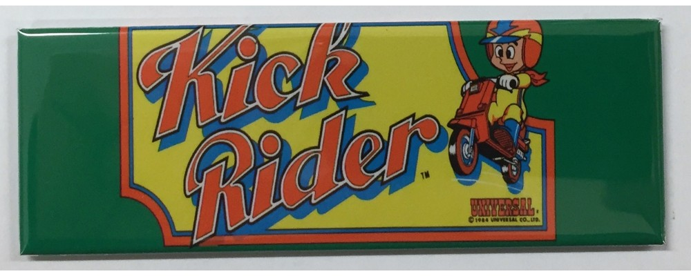 Kick Rider - Marquee - Magnet -Universal