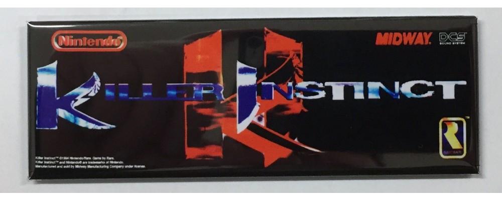 Killer Instinct - Marquee - Magnet - Midway