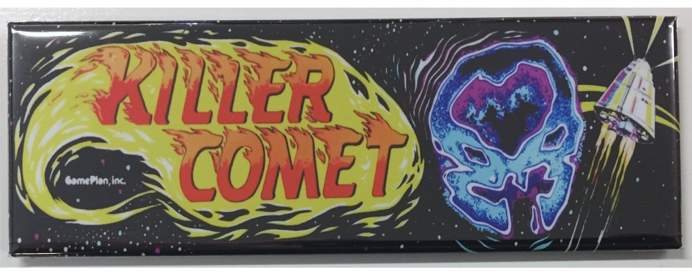 Killer Comet - Arcade/Pinball - Magnet - Game Plan Inc