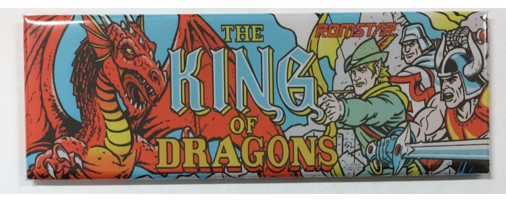 King of Dragons - Marquee - Magnet - Romstar
